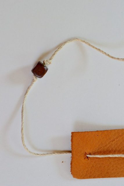 Picture Of Simple DIY Faux Leather Cuff For Men 6