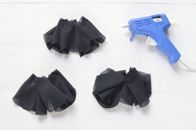 Unique DIY Ruffled Chiffon Heels