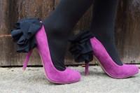 Unique DIY Ruffled Chiffon Heels 12