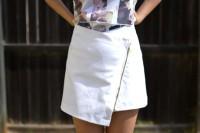Unusual DIY Envelope Wrap Skirt