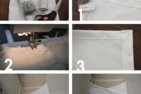 Unusual DIY Envelope Wrap Skirt 4
