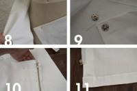 Unusual DIY Envelope Wrap Skirt 5