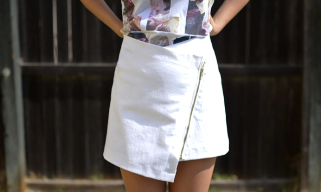 Eye-Catching DIY Envelope Wrap Skirt