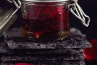 rose almond body oil