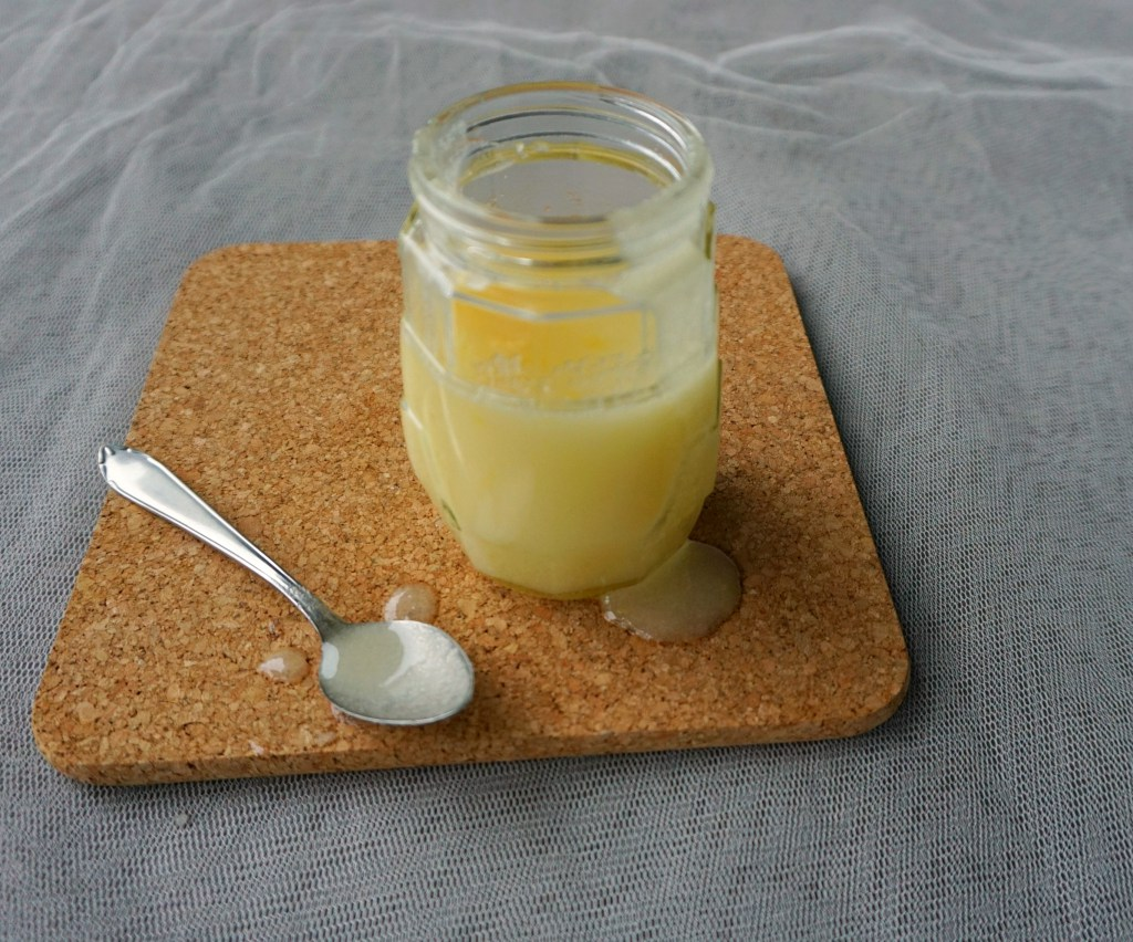Picture Of diy luscious beeswax lotion body scrub  1