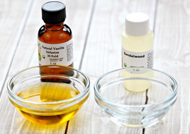 DIY Vanilla Sandalwood Perfume Oil