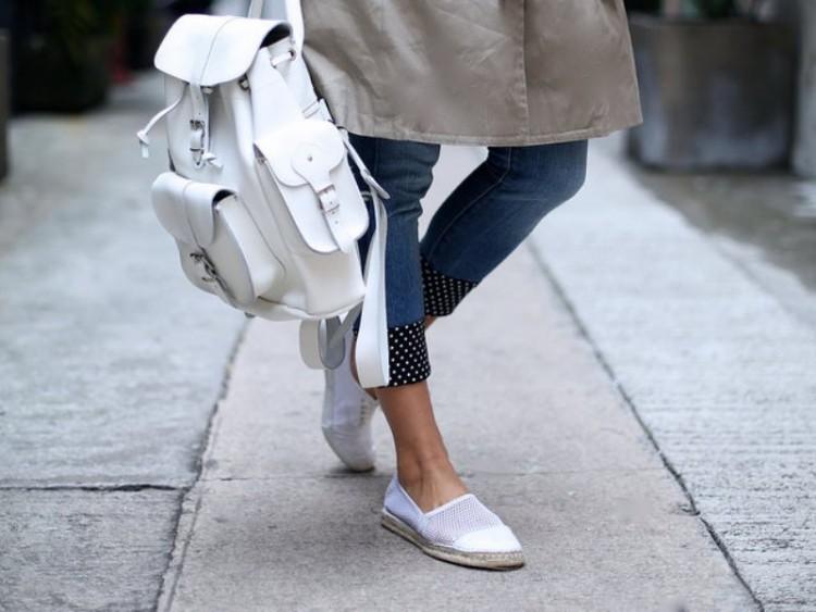 Easy Yet So Pretty DIY Fabric Cuff Jeans