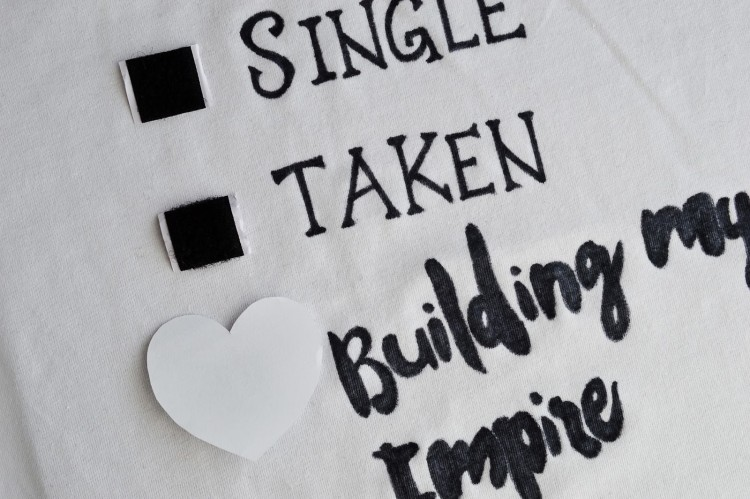 Fun DIY Relationship Status T Shirt