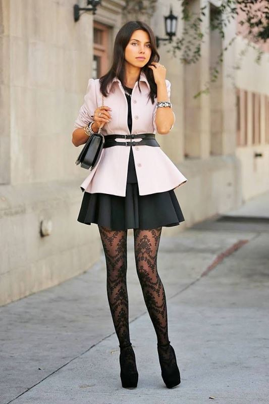 Picture Of how to wear tights like a fashionista trendy 16 looks to recreate  10