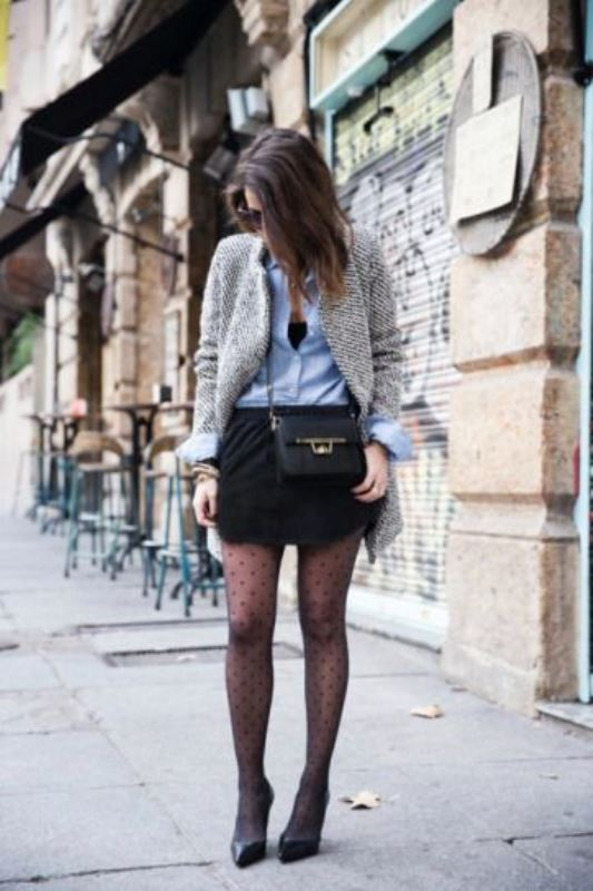 Picture Of how to wear tights like a fashionista trendy 16 looks to recreate  14