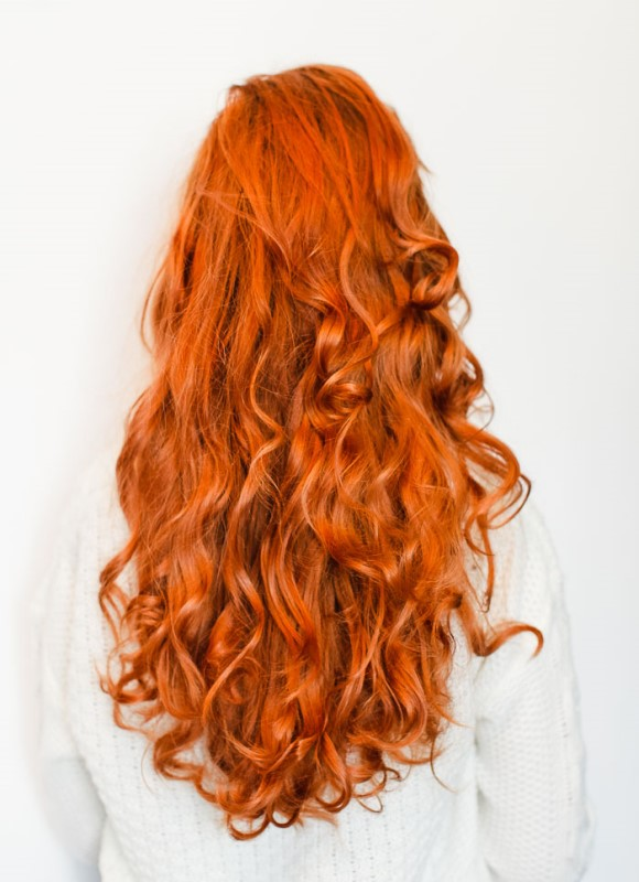 Luscious DIY No Heat Curls To Make
