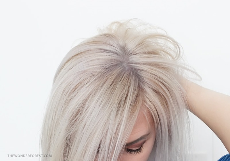 Picture Of safe and easy diy hair tonic for blondes  1