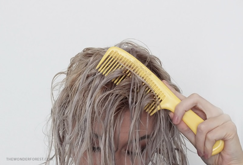 Picture Of safe and easy diy hair tonic for blondes  4