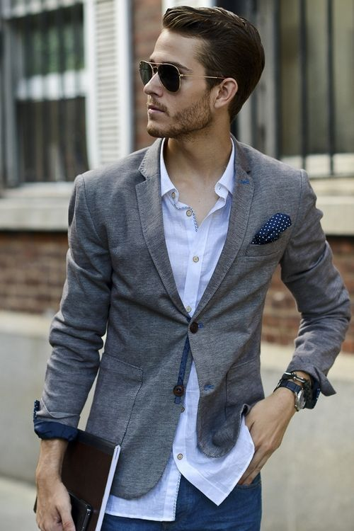 Dress casual styles for men