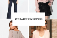 15 Romantic Pleated Blouse Ideas 16
