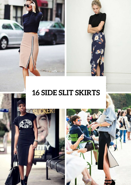 16 Feminine Side Slit Skirt Ideas To Try