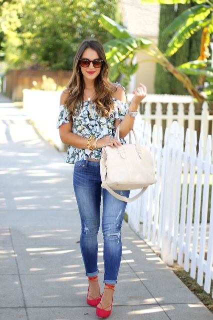 Outfit Ideas With Lace Up Flats For This Season