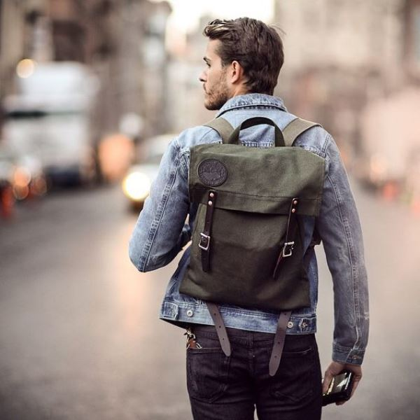 Picture Of fashionable grown up men backpacks to get ...