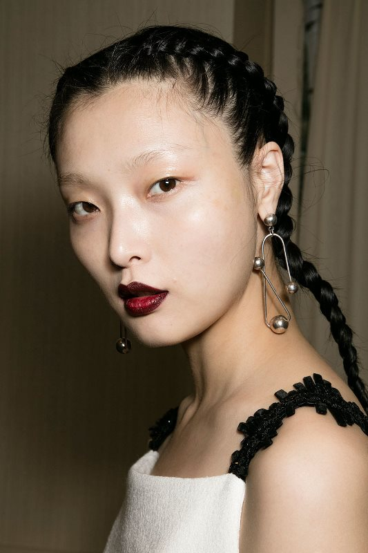 Picture Of trendy braids from 2016 fashion week to recreate  1