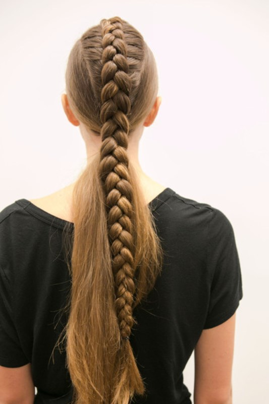 Picture Of trendy braids from 2016 fashion week to recreate  11
