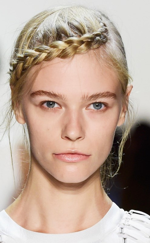Picture Of trendy braids from 2016 fashion week to recreate  12
