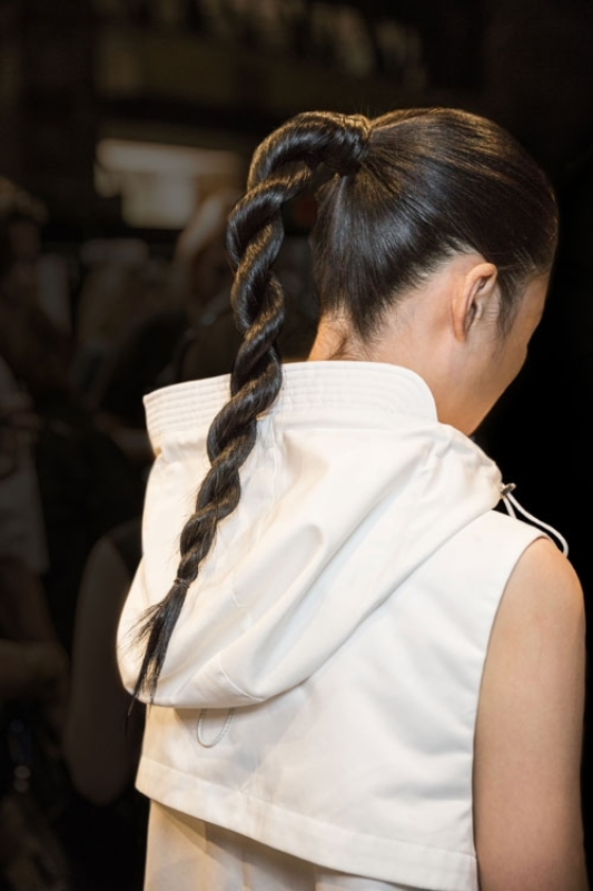 Picture Of trendy braids from 2016 fashion week to recreate  14