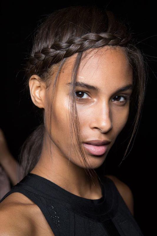 Picture Of trendy braids from 2016 fashion week to recreate  15