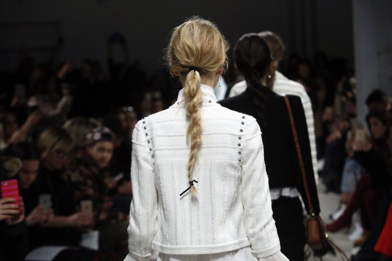 Picture Of trendy braids from 2016 fashion week to recreate  8