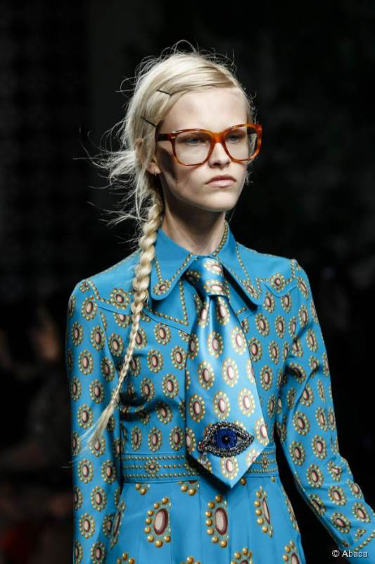 Picture Of trendy braids from 2016 fashion week to recreate  9