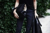 18 Trendy Pinstripe Outfits For This Season 16