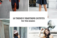 18 Trendy Pinstripe Outfits For This Season 19