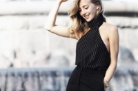 18 Trendy Pinstripe Outfits For This Season