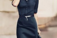 18 Trendy Pinstripe Outfits For This Season 6