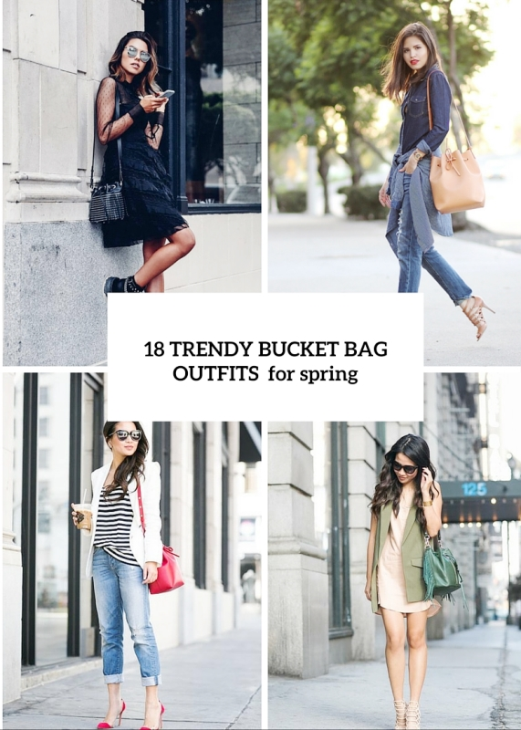 18 Trendy Bucket Bags To Rock This Spring