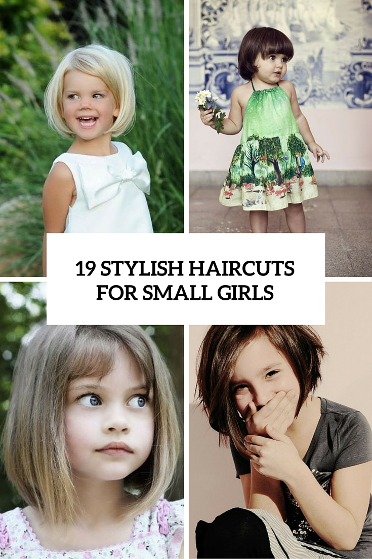 19 Super Cute And Stylish Haircuts For Small Girls Styleoholic