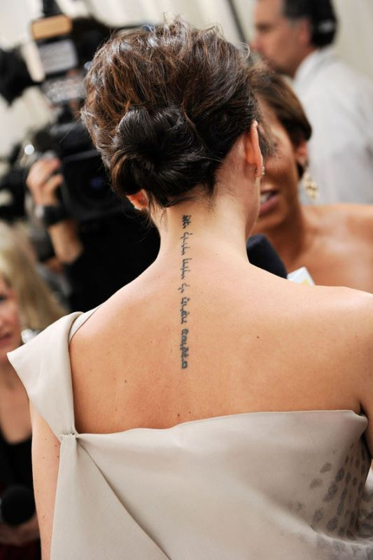 Picture Of unique celebrity tattoos to get inspired  12