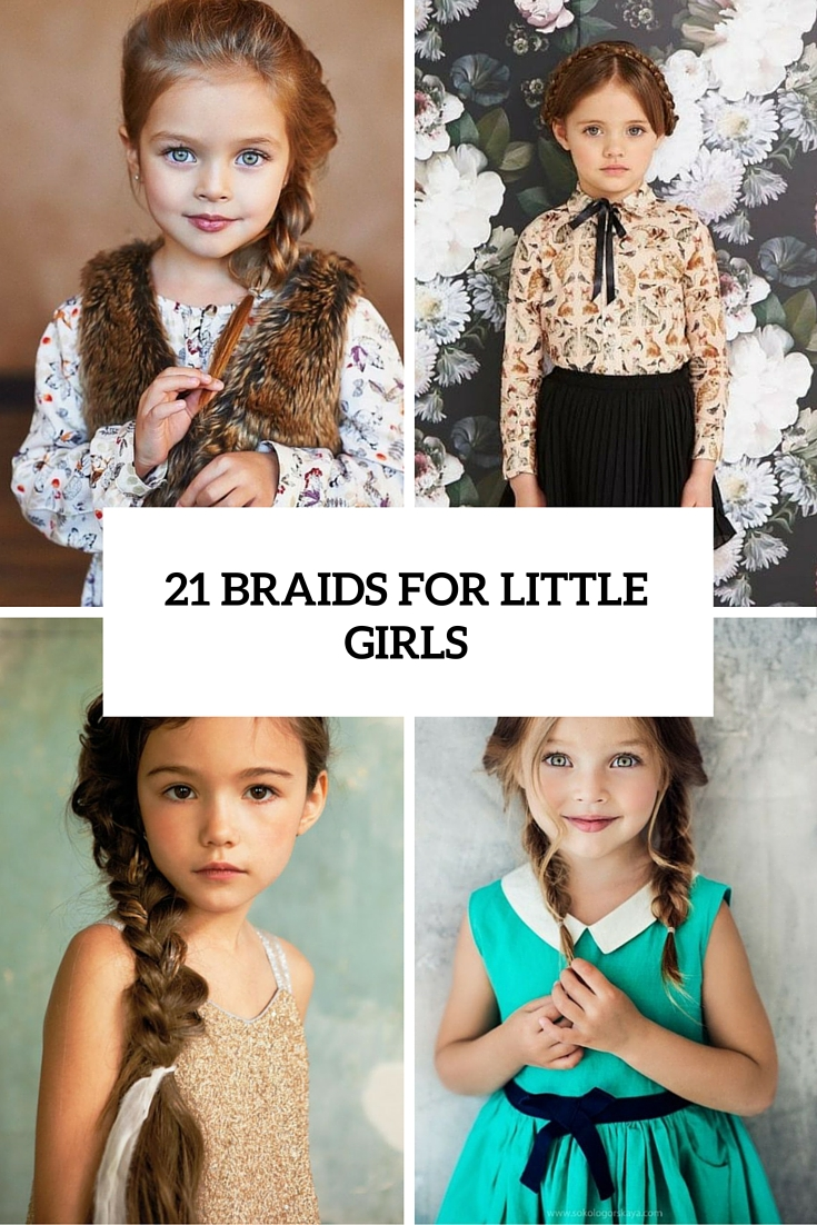 21 braids for little girls cover