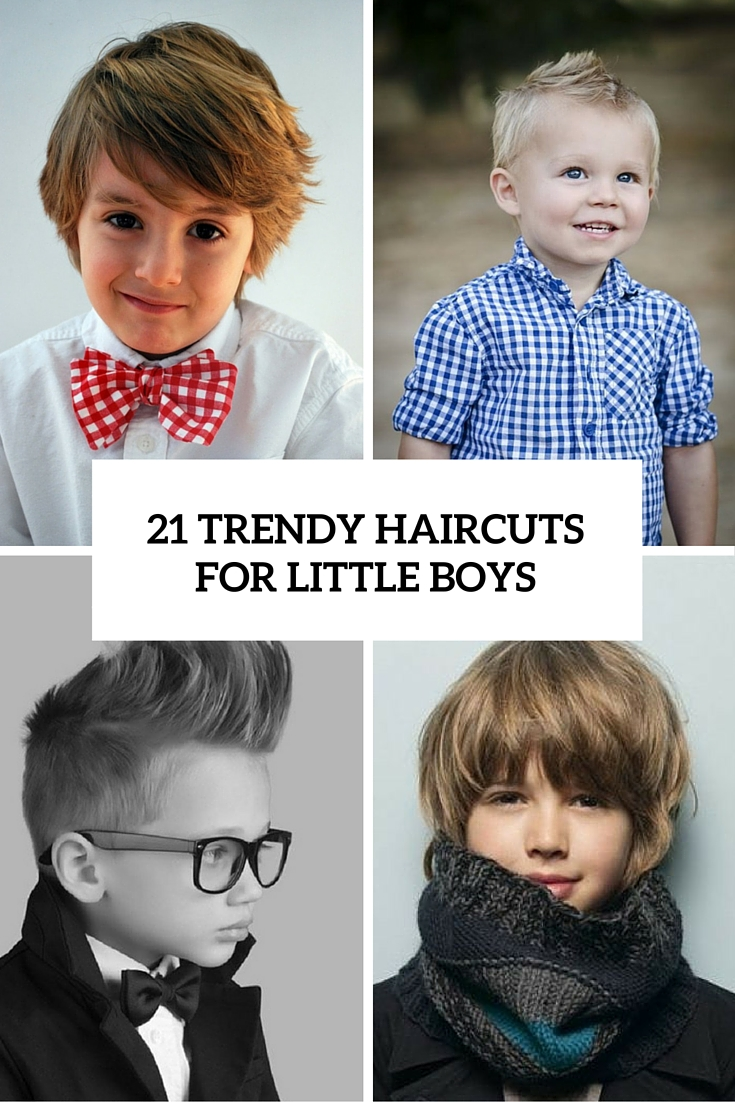 21 trendy haircuts for little boys cover