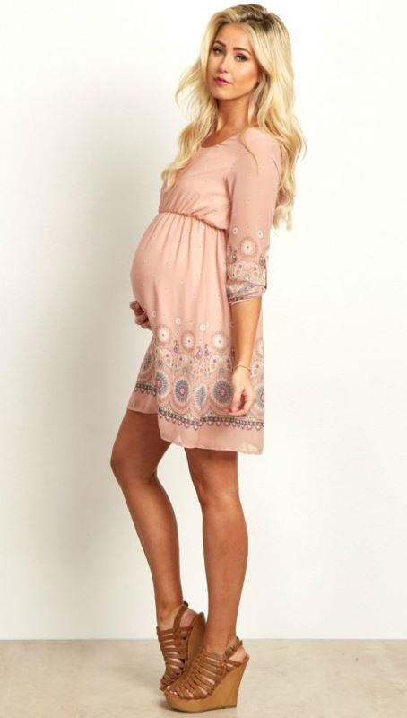 Picture Of pretty maternity dresses you want to live all pregnancy in and after  3