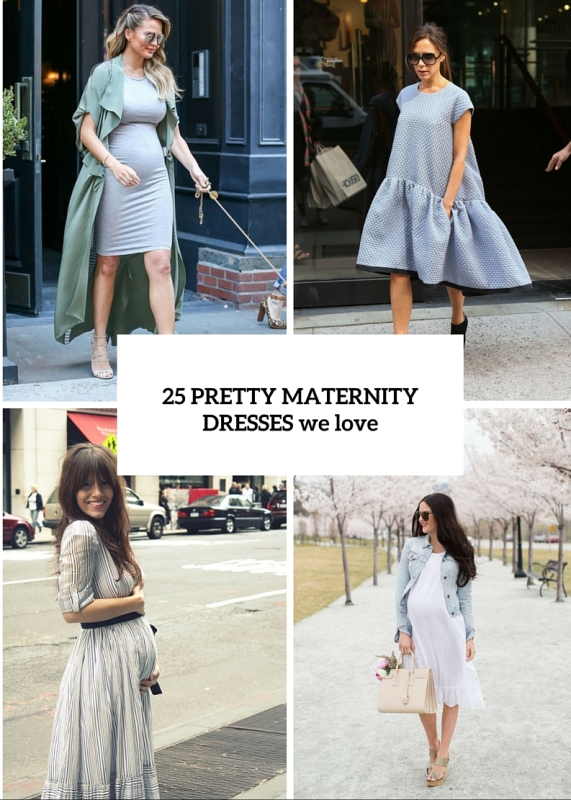 25 Pretty Maternity Dresses You Want To Live All Pregnancy In And After