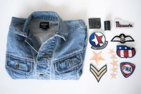 Cool DIY Patched Denim Jacket 2