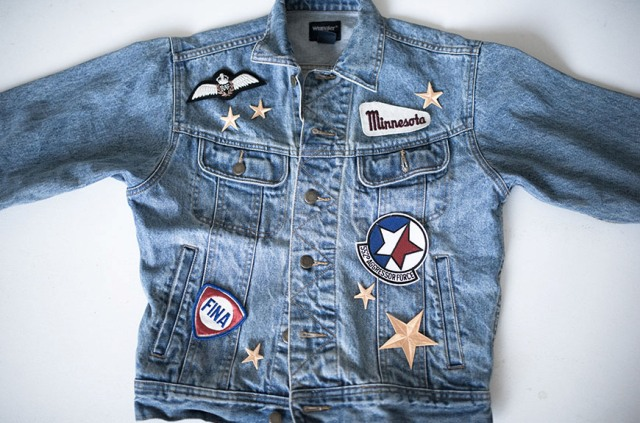 Picture Of Cool DIY Patched Denim Jacket 3