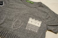 Cozy DIY Fringe T-Shirt 11