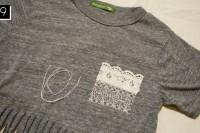 Cozy DIY Fringe T-Shirt 11