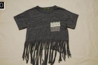 Cozy DIY Fringe T-Shirt 12