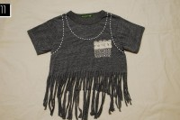 Cozy DIY Fringe T-Shirt 13