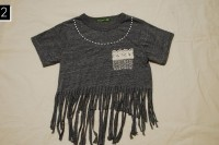 Cozy DIY Fringe T-Shirt 14