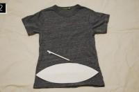 Cozy DIY Fringe T-Shirt 4