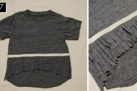 Cozy DIY Fringe T-Shirt 9
