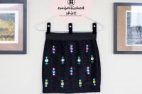 Eye-Catching DIY Embellished Skirt To Make 2